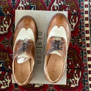 Women's Bed Stu Cobbler Series Oxford shoes
